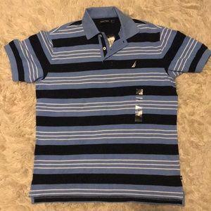 🆕 Nautical Short Sleeve Polo